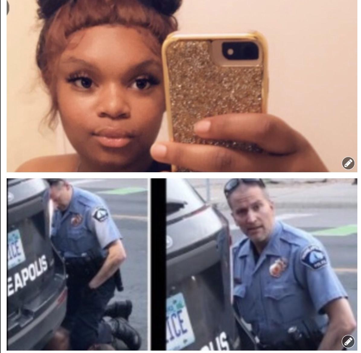 Danielle Frazier George Floyd Arrest/Murder